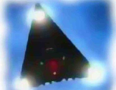 三角形UFO TR-3Bが月面で発見