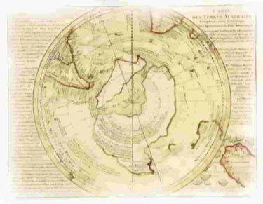 南極は遺跡の発見で昔は氷に覆われていなかった