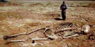 古代人は巨人として生きていたのです