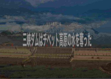 三峡ダムが建設されたのはグローバリズムが原因